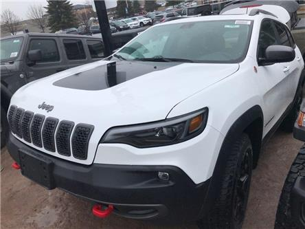 2020 Jeep Cherokee Trailhawk (Stk: 5987) in Sudbury - Image 1 of 7