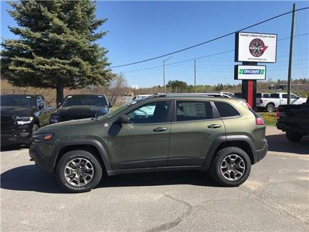 2020 Jeep Cherokee Trailhawk (Stk: 6257) in Sudbury - Image 1 of 18