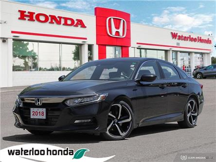 2018 Honda Accord Sport (Stk: U7080) in Waterloo - Image 1 of 27