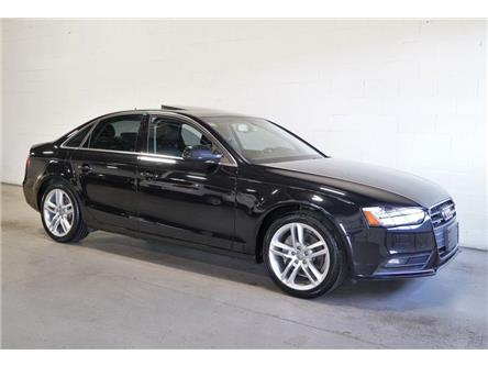 2014 Audi A4 TECHNIK | LEATHER |  NAVIGATION | SUNROOF | (Stk: A024929) in Vaughan - Image 1 of 28