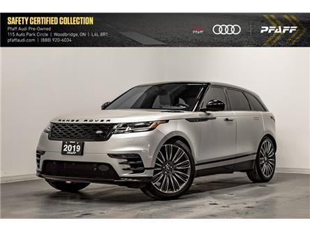 2019 Land Rover Range Rover Velar P380 HSE R-Dynamic (Stk: T18328A) in Woodbridge - Image 1 of 22