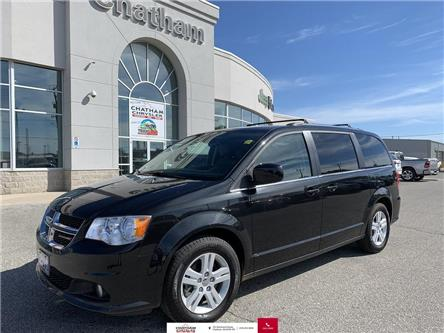 2019 Dodge Grand Caravan Crew (Stk: U04571) in Chatham - Image 1 of 27
