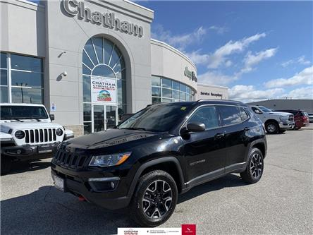 2019 Jeep Compass Trailhawk (Stk: U04581) in Chatham - Image 1 of 30