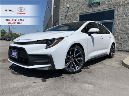 2020 Toyota Corolla SE UPGRADE APPLE CAR PLAY, ALLOY, HEATED STEERING, (Stk: 47280A) in Brampton - Image 1 of 26