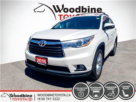 2015 Toyota Highlander Limited (Stk: P6976) in Etobicoke - Image 1 of 16