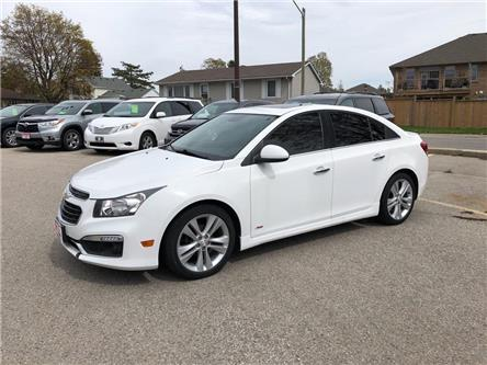 2015 Chevrolet Cruze 2LT (Stk: U25919) in Goderich - Image 1 of 18