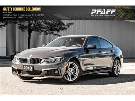 2018 BMW 440i xDrive Gran Coupe (Stk: U5895) in Mississauga - Image 1 of 22