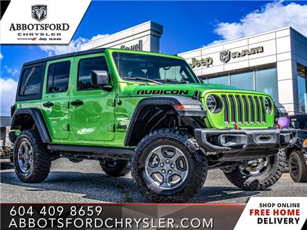 2019 Jeep Wrangler Unlimited Rubicon (Stk: L177805A) in Abbotsford - Image 1 of 26