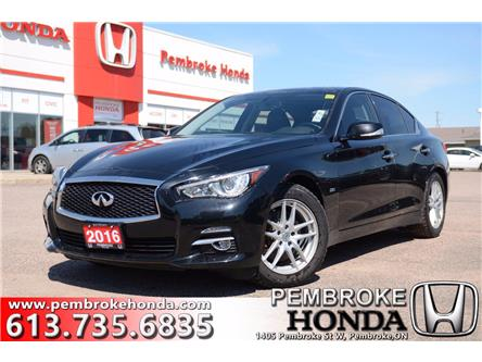 2016 Infiniti Q50 2.0T Base (Stk: 20095A) in Pembroke - Image 1 of 28