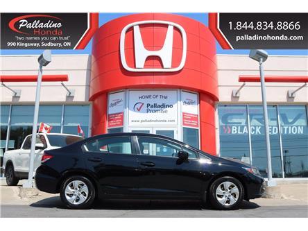 2015 Honda Civic LX (Stk: U9608) in Greater Sudbury - Image 1 of 36
