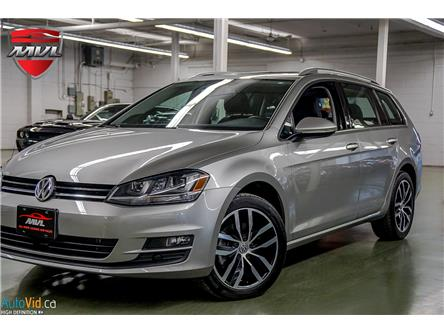 2015 Volkswagen Golf Sportwagon 2.0 TDI Highline (Stk: 15677) in Oakville - Image 1 of 28