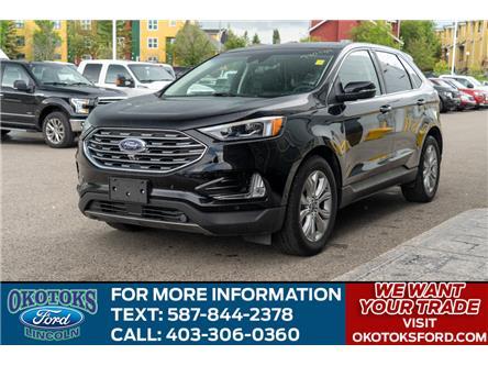 2019 Ford Edge Titanium (Stk: B81651) in Okotoks - Image 1 of 26