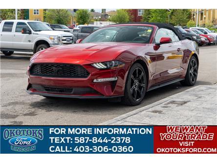 2019 Ford Mustang EcoBoost Premium (Stk: B81655) in Okotoks - Image 1 of 22