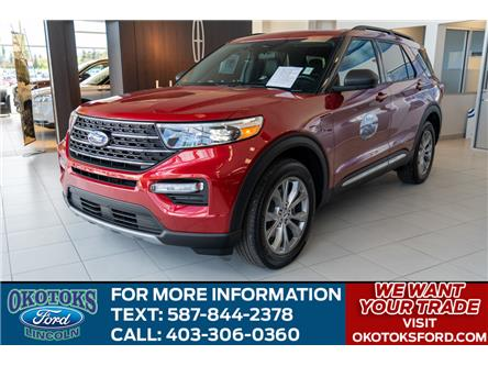 2020 Ford Explorer XLT (Stk: L-97) in Okotoks - Image 1 of 6