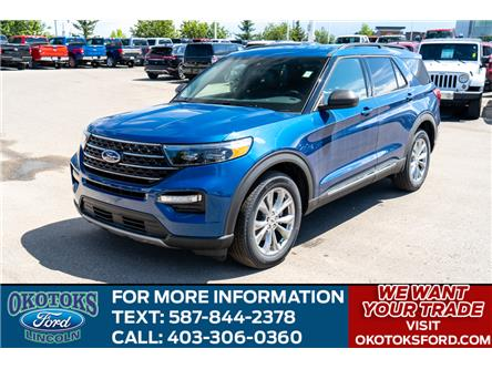 2020 Ford Explorer XLT (Stk: LK-63) in Okotoks - Image 1 of 6