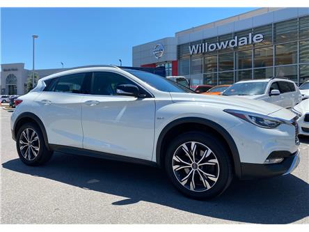2017 Infiniti QX30 Base (Stk: E7822A) in Thornhill - Image 1 of 12