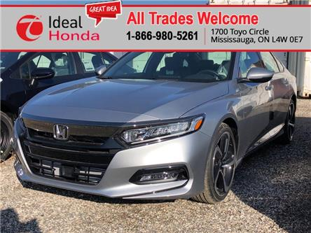 2020 Honda Accord Sport 1.5T (Stk: I200056) in Mississauga - Image 1 of 5