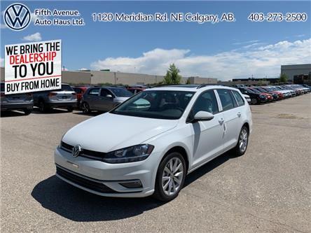 2019 Volkswagen Golf SportWagen 1.4 TSI Highline (Stk: 19680) in Calgary - Image 1 of 25