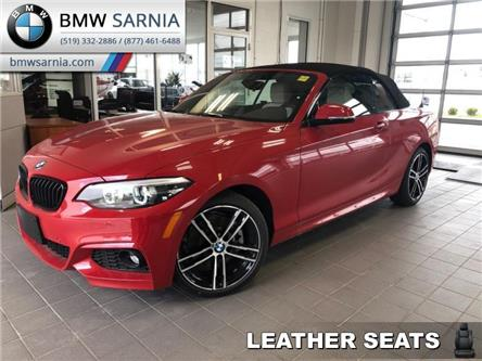 2020 BMW 2 Series 230i xDrive Convertible (Stk: B2022) in Sarnia - Image 1 of 17