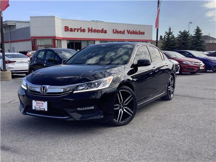 2016 Honda Accord Sport (Stk: U16549) in Barrie - Image 1 of 30