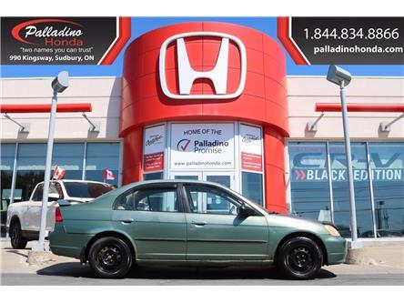2003 Honda Civic DX-G (Stk: U9622W) in Greater Sudbury - Image 1 of 25
