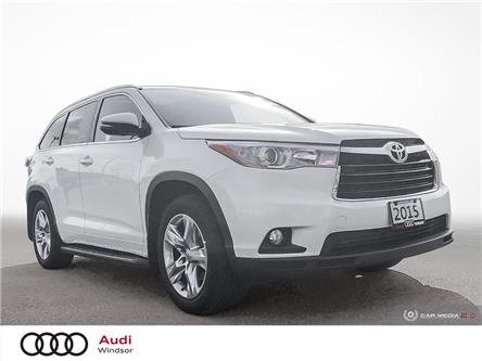 2015 Toyota Highlander  (Stk: 9830A) in Windsor - Image 1 of 26