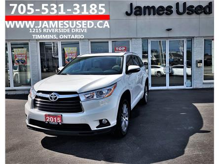 2015 Toyota Highlander XLE (Stk: N20309A) in Timmins - Image 1 of 14