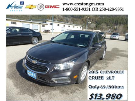 2015 Chevrolet Cruze  (Stk: 22118L) in Creston - Image 1 of 18