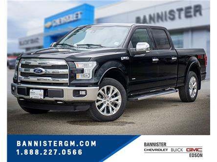 2016 Ford F-150 Lariat (Stk: 20-087A) in Edson - Image 1 of 16