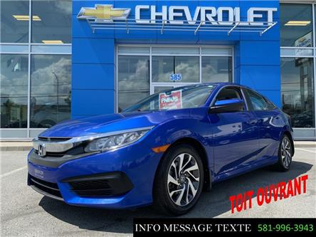 2016 Honda Civic EX (Stk: X8253) in Ste-Marie - Image 1 of 28