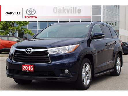 2016 Toyota Highlander Limited (Stk: LP6980) in Oakville - Image 1 of 21