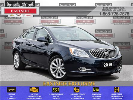 2016 Buick Verano Leather (Stk: 165958B) in Markham - Image 1 of 27