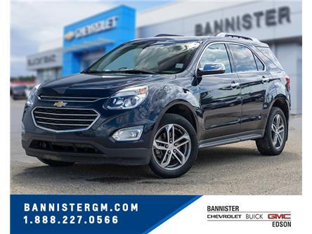 2017 Chevrolet Equinox Premier (Stk: P20-158) in Edson - Image 1 of 16