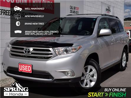 2013 Toyota Highlander V6 (Stk: H05705B) in North Cranbrook - Image 1 of 17