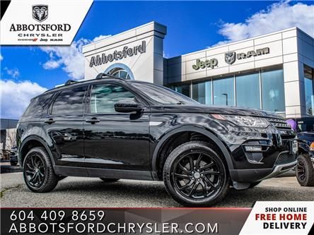 2017 Land Rover Discovery Sport HSE (Stk: AB1890A) in Abbotsford - Image 1 of 22