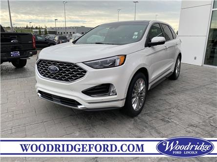 2020 Ford Edge Titanium (Stk: LK-131) in Calgary - Image 1 of 6
