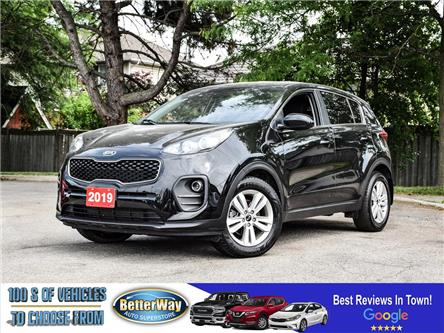 2019 Kia Sportage LX |FWD |BACK UP CAM |HEATED SEATS |BLUETOOTH (Stk: 5661) in Stoney Creek - Image 1 of 17