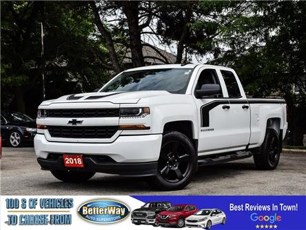 2018 Chevrolet Silverado 1500 4x4 | Bu Cam | Apple/Android carplay | Blackout ed (Stk: 5648) in Stoney Creek - Image 1 of 24