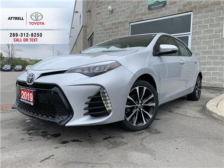 2019 Toyota Corolla SE UPGRADE HEATED STEERING, ALLOYS, SUNROOF, SPOIL (Stk: 47331A) in Brampton - Image 1 of 22