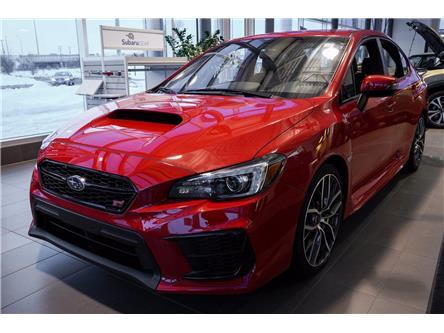 2020 Subaru WRX STI Sport-tech w/Lip (Stk: SL293) in Ottawa - Image 1 of 16