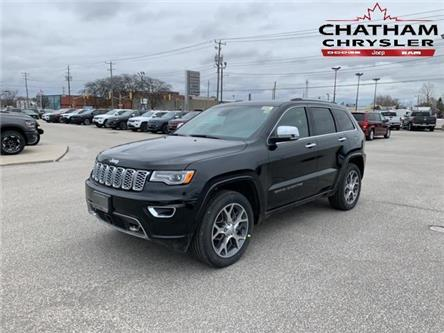 2020 Jeep Grand Cherokee Overland (Stk: N04406) in Chatham - Image 1 of 14