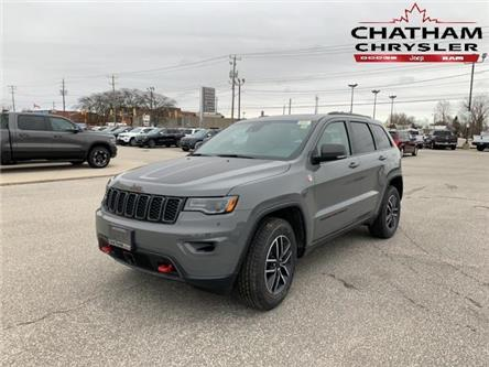 2020 Jeep Grand Cherokee Trailhawk (Stk: N04428) in Chatham - Image 1 of 14