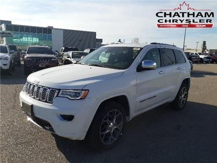 2020 Jeep Grand Cherokee Overland (Stk: N04331) in Chatham - Image 1 of 11