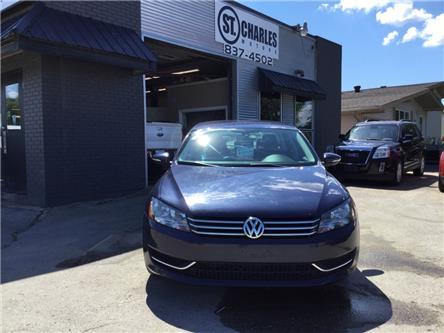 2012 Volkswagen Passat 2.5L Trendline (Stk: ) in Winnipeg - Image 1 of 17