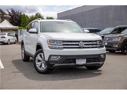 2019 Volkswagen Atlas 3.6 FSI Highline (Stk: KA616713) in Vancouver - Image 1 of 29