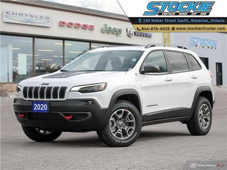 2020 Jeep Cherokee Trailhawk (Stk: 33442) in Waterloo - Image 1 of 27