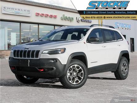 2020 Jeep Cherokee Trailhawk (Stk: 33474) in Waterloo - Image 1 of 27