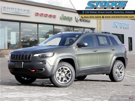 2020 Jeep Cherokee Trailhawk (Stk: 33505) in Waterloo - Image 1 of 27