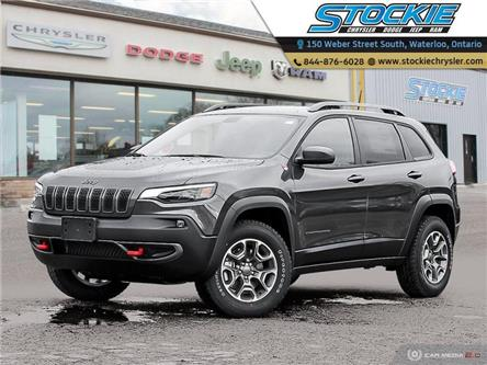 2020 Jeep Cherokee Trailhawk (Stk: 33526) in Waterloo - Image 1 of 27