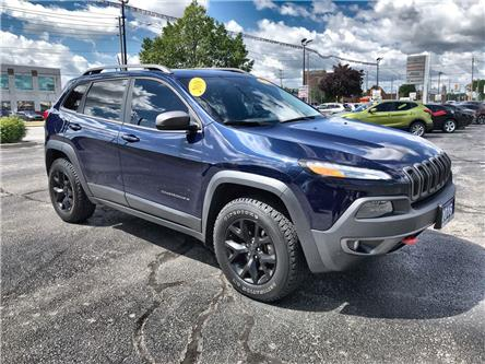 2016 Jeep Cherokee Trailhawk (Stk: 2213A) in Windsor - Image 1 of 13